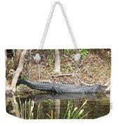 Wakulla Springs Alligator Weekender Tote Bag