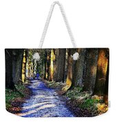Walk On A Cold Autumn Day Weekender Tote Bag