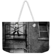 Walk On White  Weekender Tote Bag