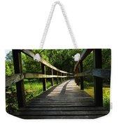 Walk This Way To Nature Weekender Tote Bag