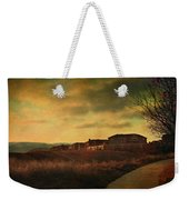 Walking Alone Weekender Tote Bag by Laurie Search