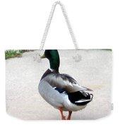 Walking Duck Weekender Tote Bag