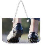 Walking Weekender Tote Bag