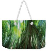 Walking Palm Socratea Exorrhiza Showing Weekender Tote Bag