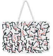Walking The Dogs - Dec Two K Eleven Weekender Tote Bag