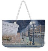 Wall Art Moose Jaw 2 Weekender Tote Bag