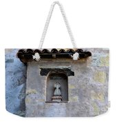 Wall Detail At Carmel Weekender Tote Bag