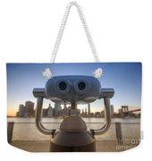 Wall E Weekender Tote Bag by Yhun Suarez