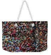 Wall Of Gum Weekender Tote Bag