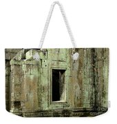 Wall Ta Prohm Weekender Tote Bag by Bob Christopher