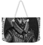 Walter Raleigh, English Courtier Weekender Tote Bag