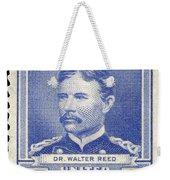 Walter Reed (1851-1902) Weekender Tote Bag