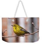 Warbler - Pine Warbler - Oh So Yellow Weekender Tote Bag