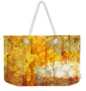Warm Abstract Weekender Tote Bag by Brett Pfister