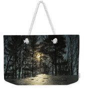 Warmth Above Icy Reflections Weekender Tote Bag