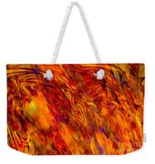 Warmth And Charm - Abstract Art Weekender Tote Bag