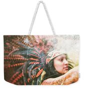 Warrior Dance Weekender Tote Bag