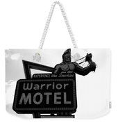 Warrior Motel Weekender Tote Bag