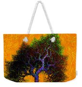 Was A Crooked Tree  Grunge Art Weekender Tote Bag