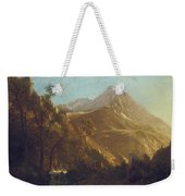 Wasatch Mountains Weekender Tote Bag