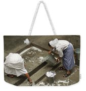 Washing At The Motherhouse Weekender Tote Bag