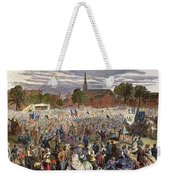 Washington: Abolition, 1866 Weekender Tote Bag