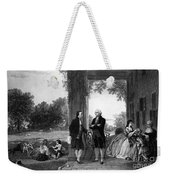 Washington And Lafayette, Mount Vernon Weekender Tote Bag
