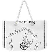 Washington: Book Of Surveys Weekender Tote Bag