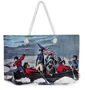 Washington Crossing The Delaware, 1776 Weekender Tote Bag