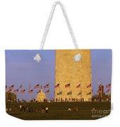 Washington Dc Sunset Weekender Tote Bag
