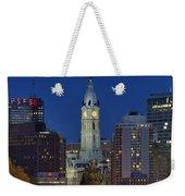 Washington Monument And City Hall Weekender Tote Bag