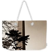 Washington Monument In Sepia Weekender Tote Bag