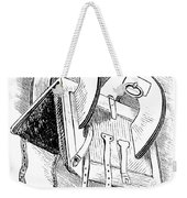 Washington: Saddle Weekender Tote Bag