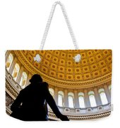 Washington Under Capitol Dome Weekender Tote Bag