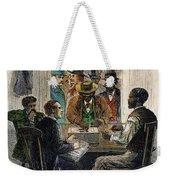 Washington: Voting, 1867 Weekender Tote Bag