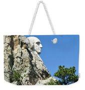 Washinton On Mt Rushmore Weekender Tote Bag