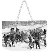 Washita Prisoners, 1868 Weekender Tote Bag