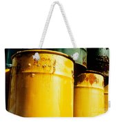 Waste Drums Weekender Tote Bag