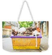 Waste Skip Weekender Tote Bag