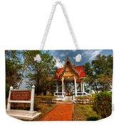Wat Kham Chanot Weekender Tote Bag