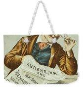 Watch Trade Card, C1880 Weekender Tote Bag