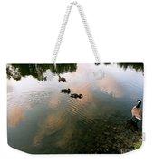 Watchful Eye Playful Sky Weekender Tote Bag
