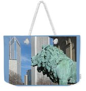 Watching Chicago Weekender Tote Bag
