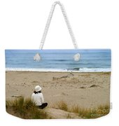 Watching The Ocean Weekender Tote Bag