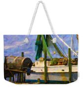 Watching Within A Frame Weekender Tote Bag