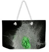 Water Balloon Popping Weekender Tote Bag