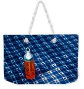 Water Bottle On A Blanket Weekender Tote Bag