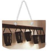 Water Buckets Weekender Tote Bag