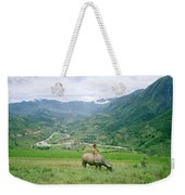 Water Buffalo Boy Weekender Tote Bag