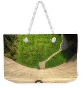 Water Dam And A Shoe Weekender Tote Bag